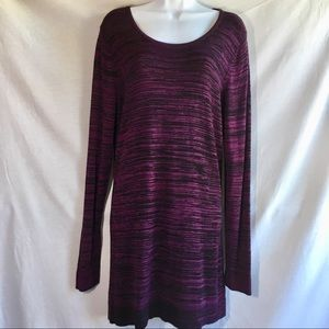 Cable and Gauge popover tunic sweater size M/L